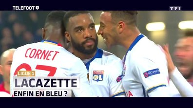 Equipe de France : Lacazette, enfin en Bleu ?
