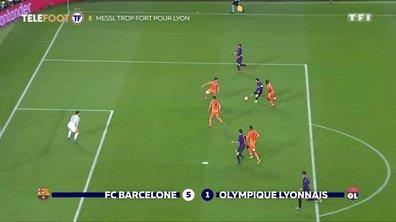 LDC - Messi trop fort pour Lyon