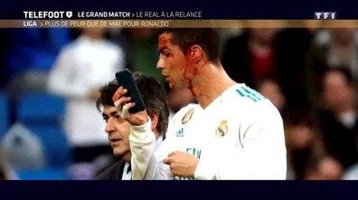 Liga -Real Madrid-La Corogne : plus de peur que de mal pour Cristiano Ronaldo
