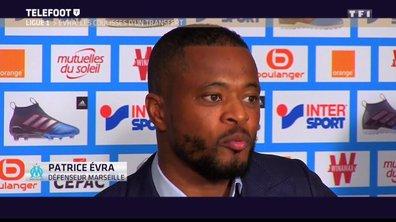 Marseille : Patrice Evra blessé et indisponible plusieurs semaines