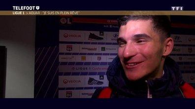 """Ligue 1 - Houssem Aouar : """"Je suis en plein rêve"""""""