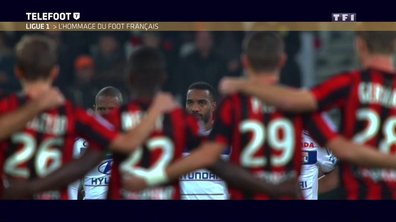 Ligue 1 : L'hommage du football français