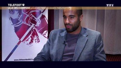 [Téléfoot 12/02] Ligue des Champions : Lucas : « Nous sommes plus forts »