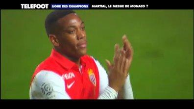 Ligue des champions : Martial, le messie de Monaco ?