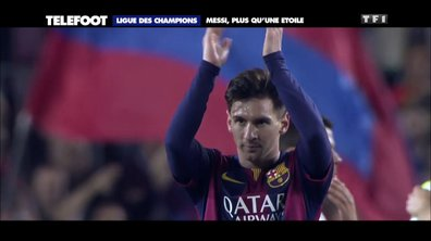 Ligue des Champions : Messi, plus qu'une étoile
