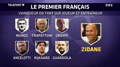 Ligue des champions : Zidane dans l'Histoire