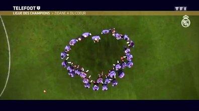 Ligue des champions : Zinédine Zidane a du coeur