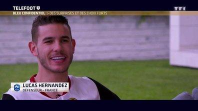 Liste des 23 : La joie de Lucas Hernandez