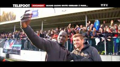 Liverpool : Quand Sakho invite Gerrard à Paris