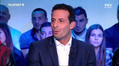 """[Téléfoot 02/10] Ludovic Giuly : """"A Rome, il y a le Pape et Totti"""""""