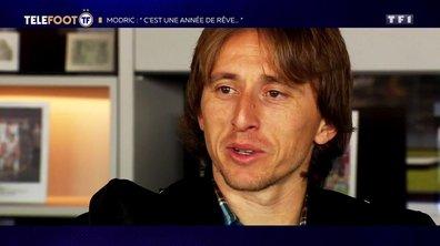 """Luka Modric : """"C'est une année de rêve"""""""