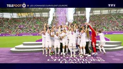 Les Lyonnaises survolent l'Europe !