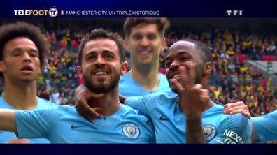 Manchester City, un triplé historique !