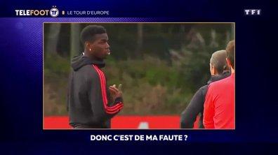 Manchester United : L'altercation Pogba-Mourinho sous titrée
