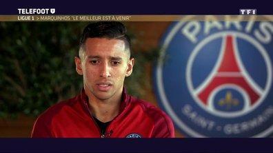 [Téléfoot 11/12] Ligue 1 : Marquinhos : « Nos adversaires sont plus forts »