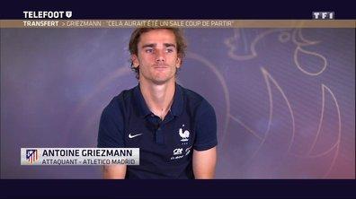 """Mercato - Antoine Griezmann : """"Cela aurait été un sale coup de partir"""""""