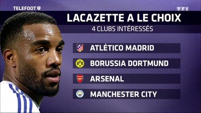 Mercato/OL : Alexandre Lacazette courtisé par les plus grands clubs européens