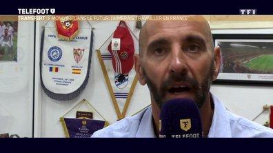 """[Exclu Téléfoot] Monchi : """"La Ligue 1 est un championnat intéressant pour moi"""""""