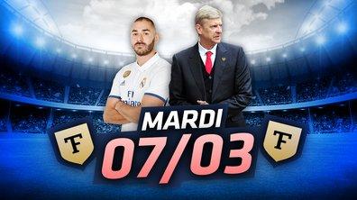 La Quotidienne du 07/03 : Neymar, Benzema, Ligue des champions