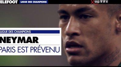 Ligue des champions : Neymar donne rendez-vous à Paris