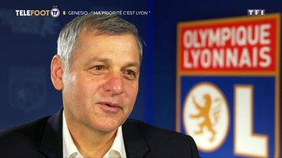 "OL- Bruno Genesio : ""Ma priorité c'est Lyon"""