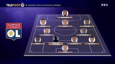 OL-FC Barcelone : le plan de Bruno Génésio