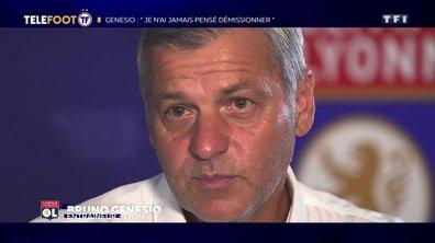 """OL - Bruno Genesio : """"Je n'ai jamais pensé à démissionner"""""""
