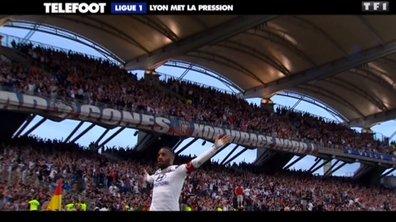 OL : Lyon met la pression