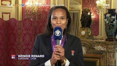 """OL - Wendie Renard : """"C'est magnifique, c'est pour ça qu'on joue"""""""