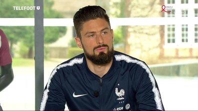 """Olivier Giroud sur sa signature à Chelsea : """"Un club où le coach me désire"""""""