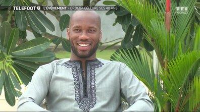 OM, Côte d'Ivoire, Chelsea : Didier Drogba se livre en exclu pour Téléfoot