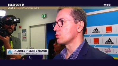 OM : Jacques-Henri Eyraud fait le bilan de la saison