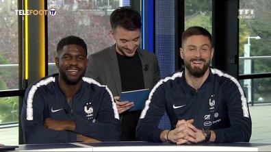 Le Oui/Non d'Olivier Giroud et Samuel Umtiti
