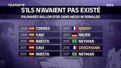 Le palmarès du Ballon d'Or sans Messi ni Ronaldo