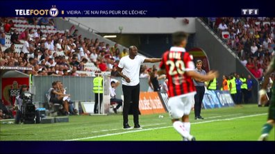 """OGC Nice - Patrick Vieira : """"Je n'ai pas peur de l'échec"""""""