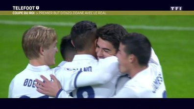 Coupe du Roi : premier but d'Enzo Zidane avec le Real Madrid
