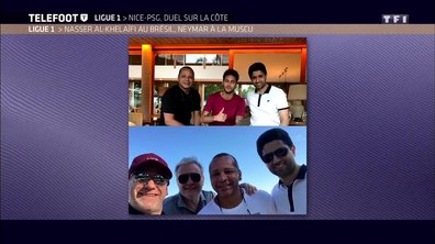 PSG: Al Khelaïfi et Henrique au Brésil, Neymar à la muscu