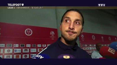 "PSG - Ibrahimovic : ""Je suis là"""
