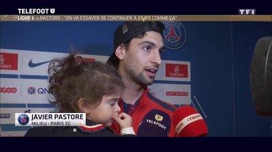 PSG - Pastore : On va essayer de continuer à jouer comme ça