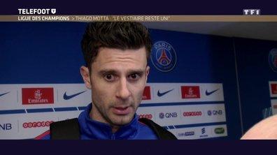"PSG - Thiago Motta : ""Le vestiaire reste uni'"