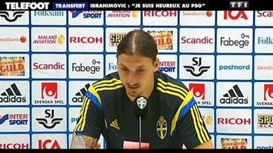 PSG - Transfert : Ibrahimovic répond aux rumeurs