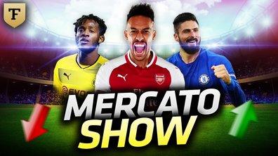 La Quotidienne du 31/01 : Aubameyang, Giroud, Batshuayi : Mercato Show