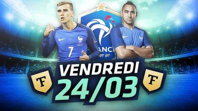 La Quotidienne du 24/03 : Griezmann en feu, Mbappé fait peur aux Bleus, Barton critique le PSG