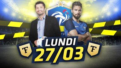 XXLa Quotidienne du 27/03 : Luxembourg-France, ce que vous n'avez pas vu à la TV