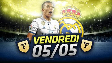 La Quotidienne du 05/05 : Mbappé au Real Madrid ?