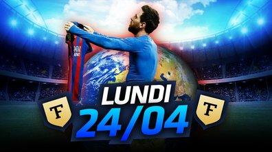 La Quotidienne du 24/04 : Messi légendaire