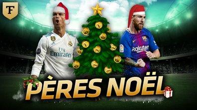 La Quotidienne du 21/12 : Messi-Ronaldo, les pères Noël !