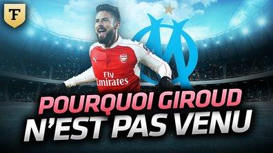 La Quotidienne du 29/08 : Pourquoi Giroud n'a pas rejoint l'OM
