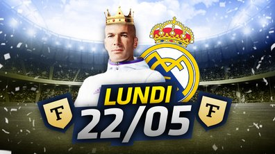 La Quotidienne du 22/05 : Royal Zizou !