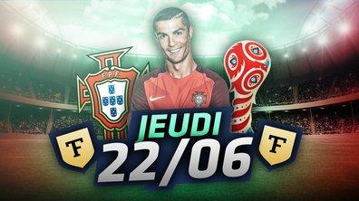 La Quotidienne du 22/06 : Cristiano Ronaldo au top, Bielsa sur le terrain !